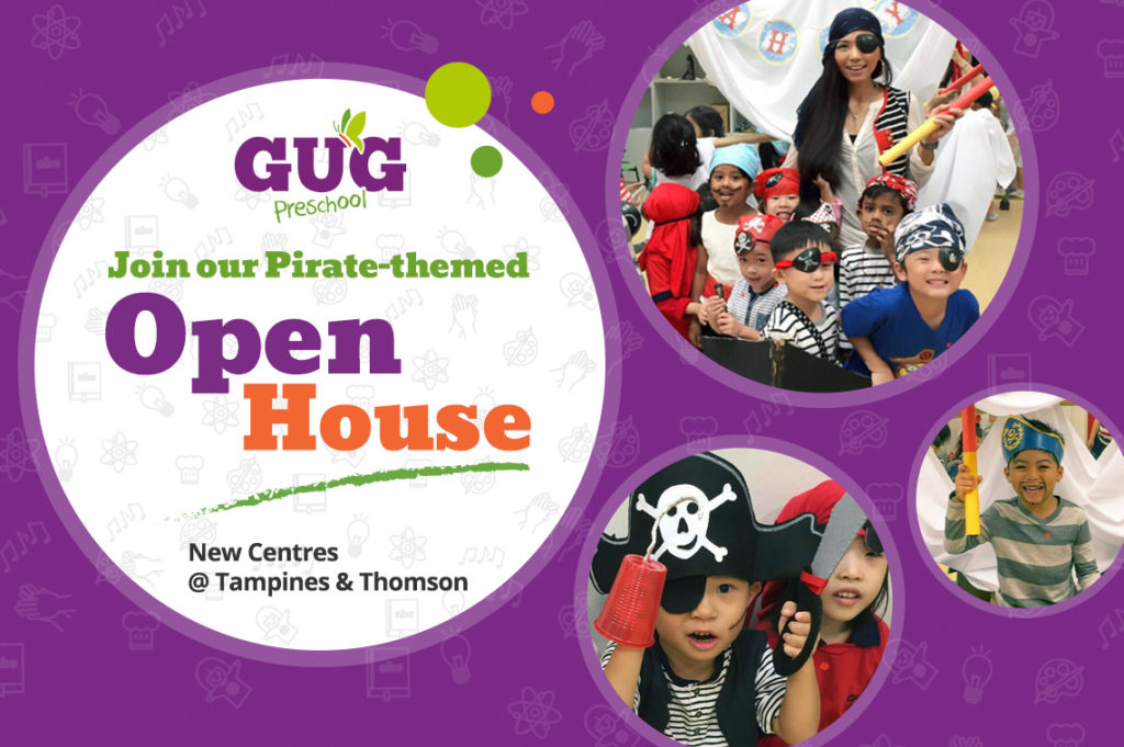 Join our Pirate-themed Campus Open Houses on <span>30 March and 6 April</span>