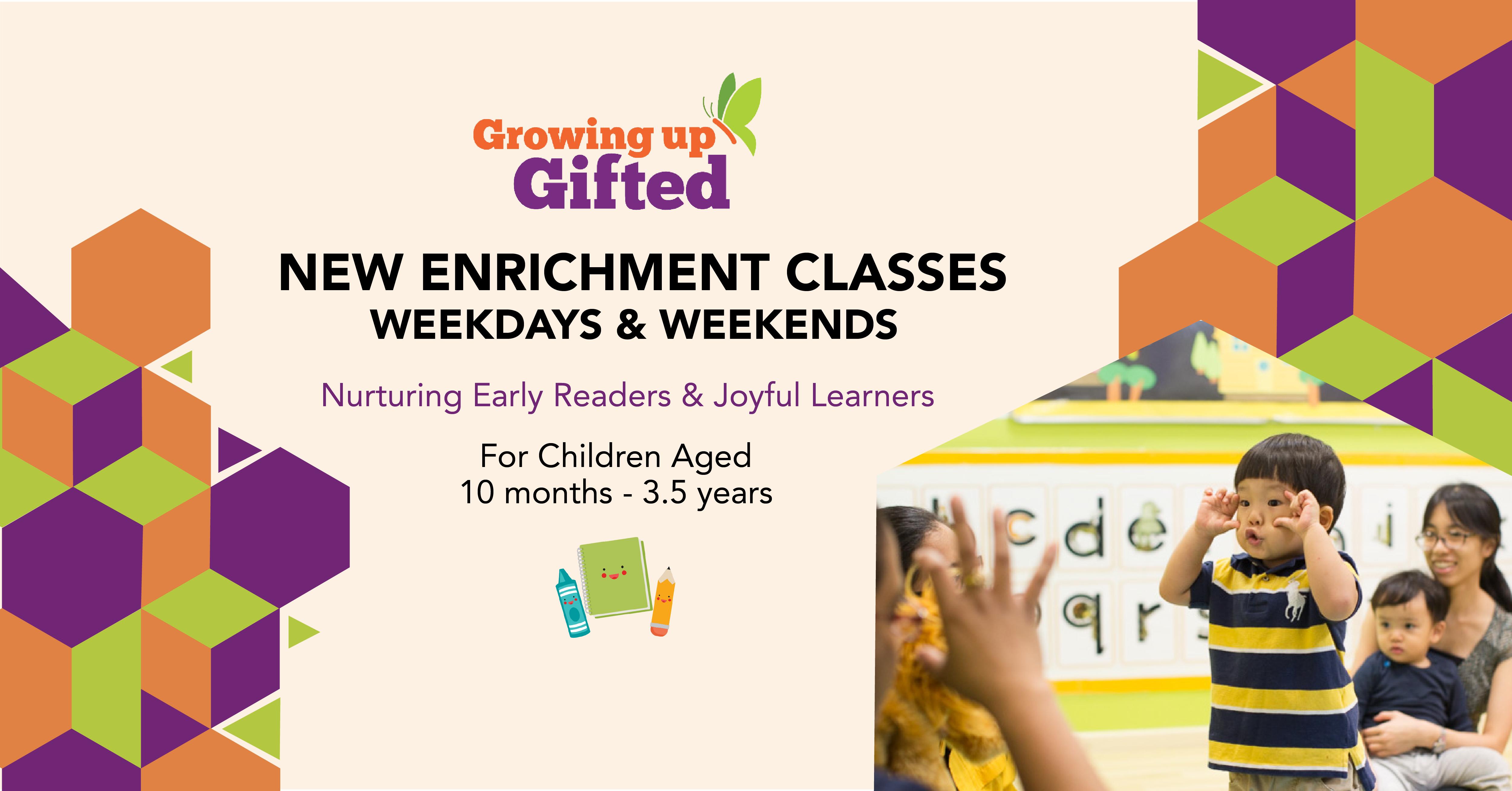 Growing Smart - New Weekday & Weekend Classes!